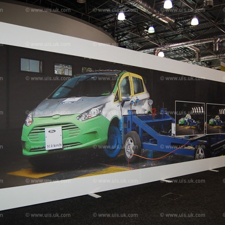 Dye Sublimated Print for Ford Car Event