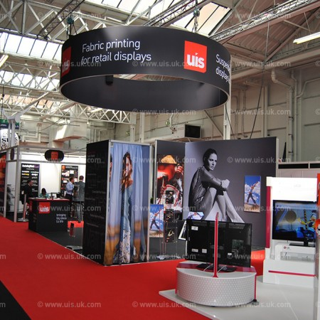 Hanging Drum for UIS Exhibition Stand